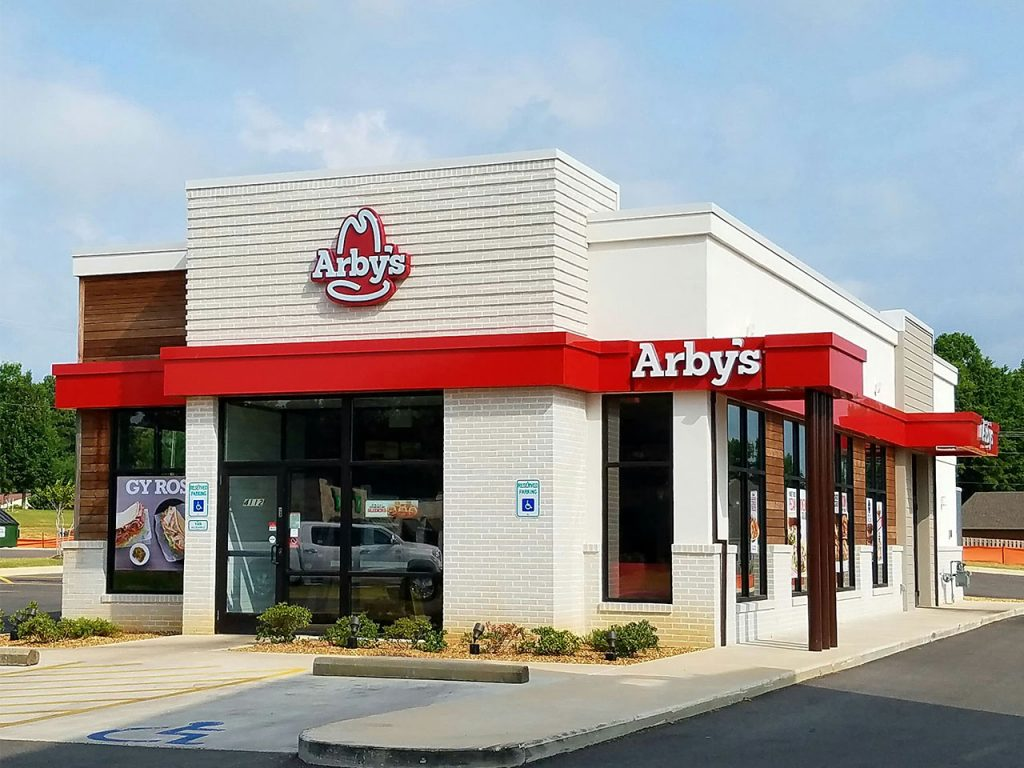 an Arby's project