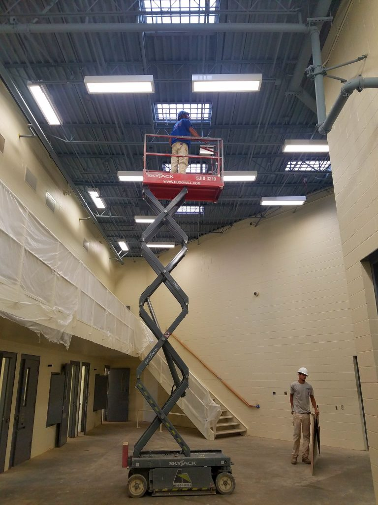interior project for the jackson county jail