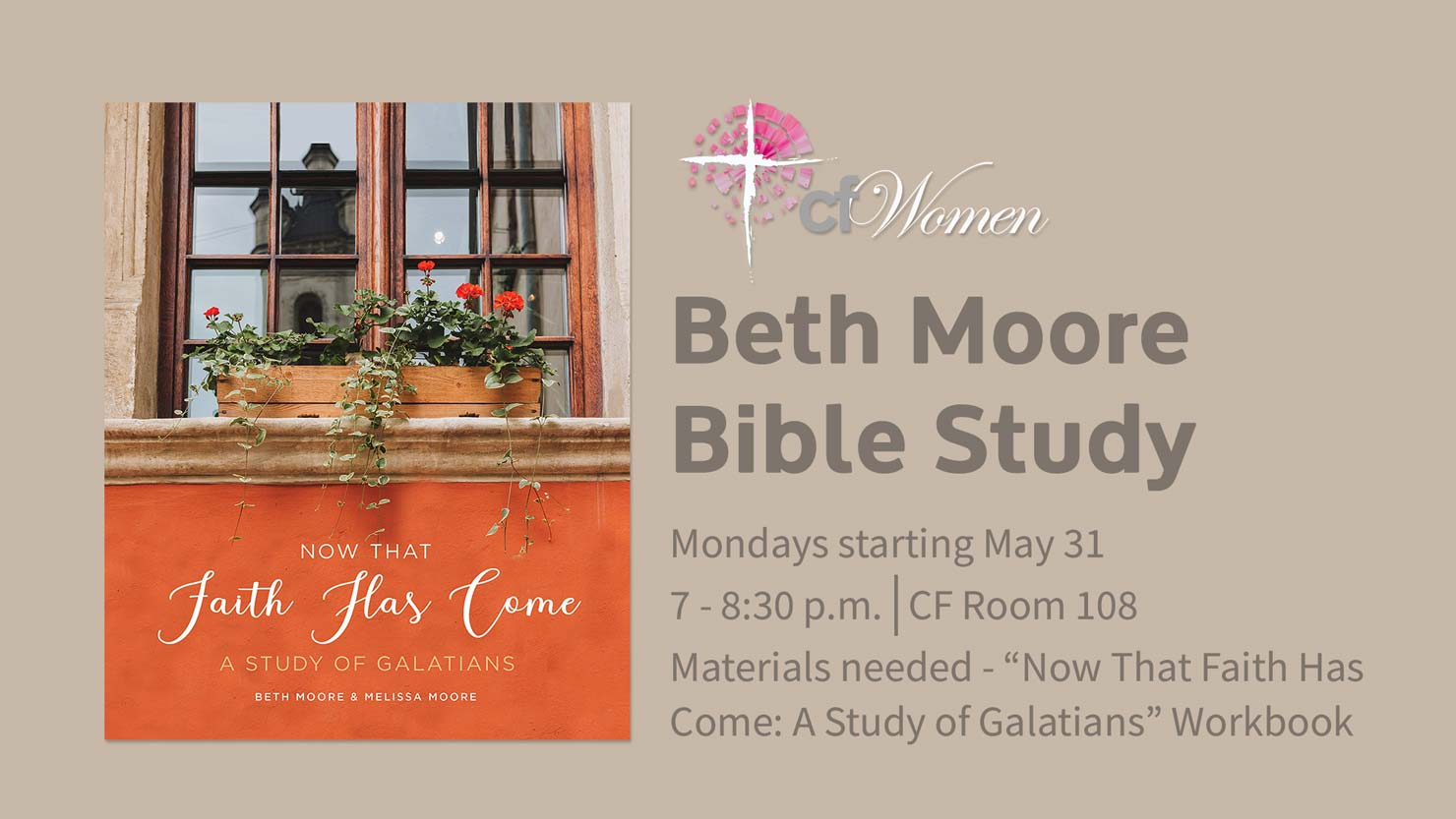 Beth Moore Women's Study May