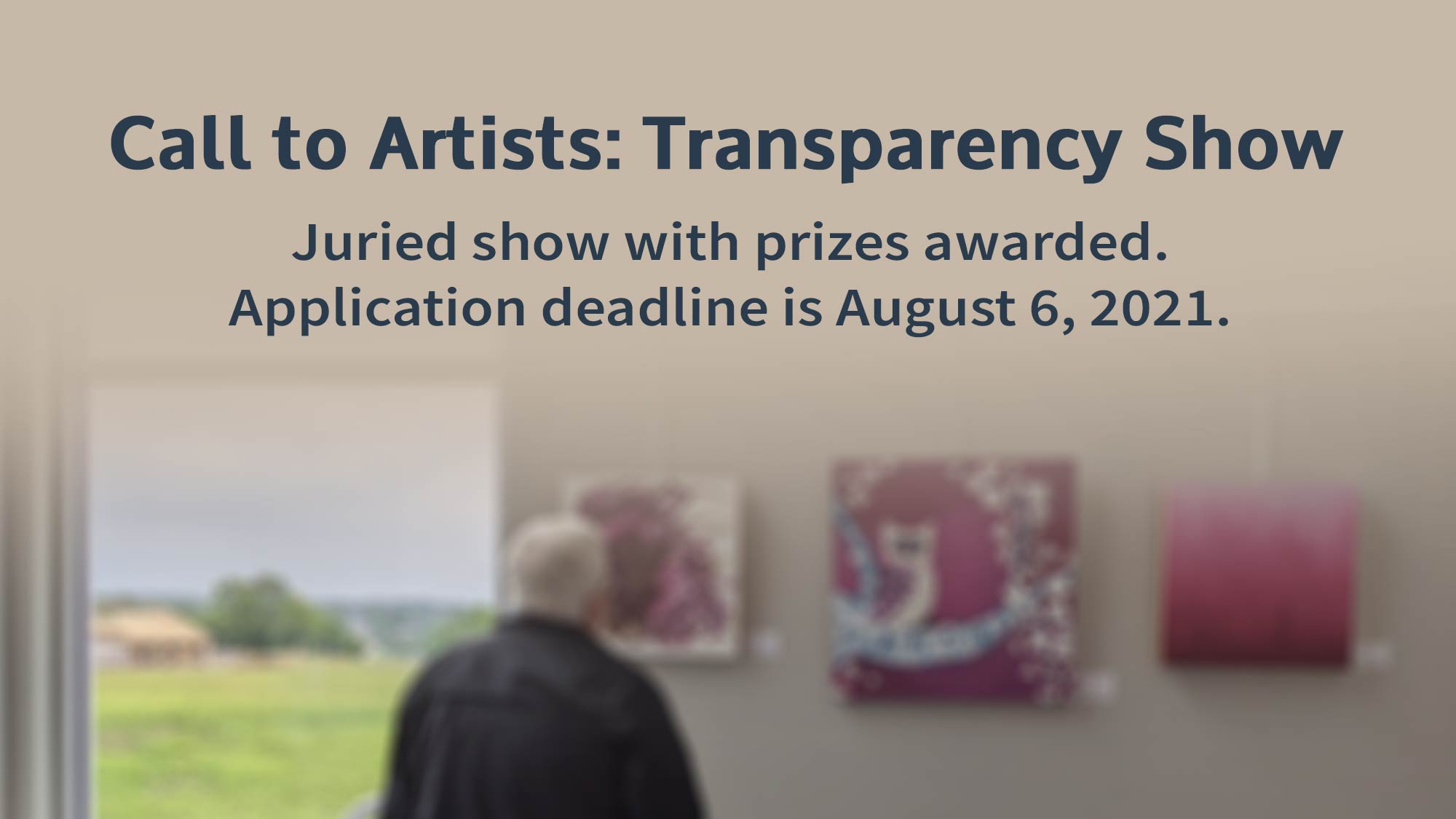 Transparency Juried Art Show in Columbia Mo