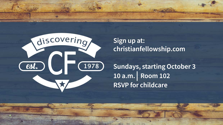 Discovering CF Fall 2021 Class