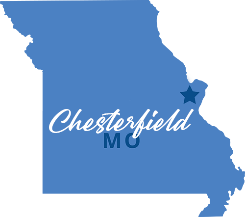 Chesterfield MO Map HEWN
